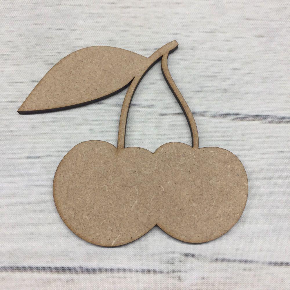 Wooden Cherry shape