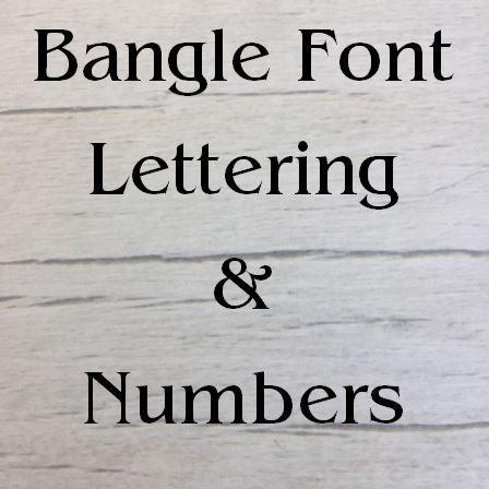Bangle font