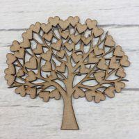 Decorative Family Tree 4 (Hearts)