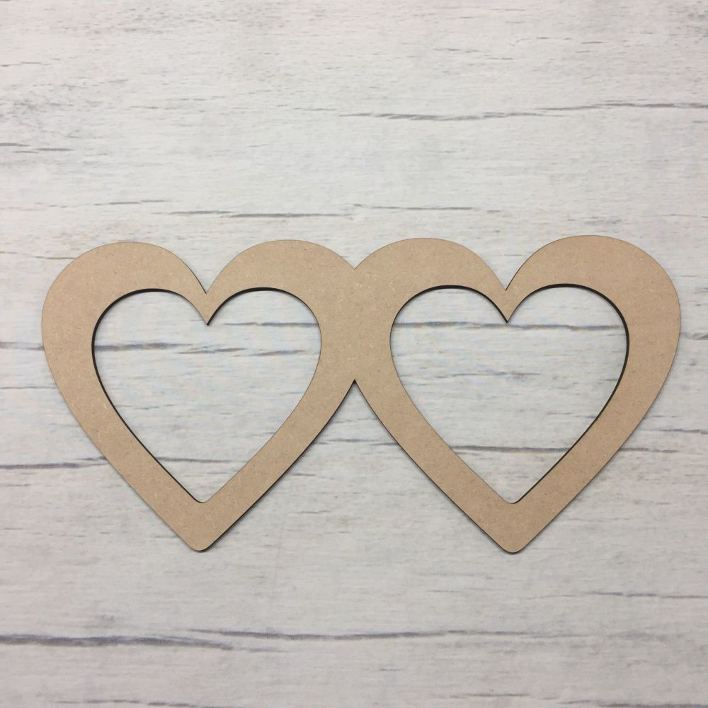 Heart shape - Double Hearts