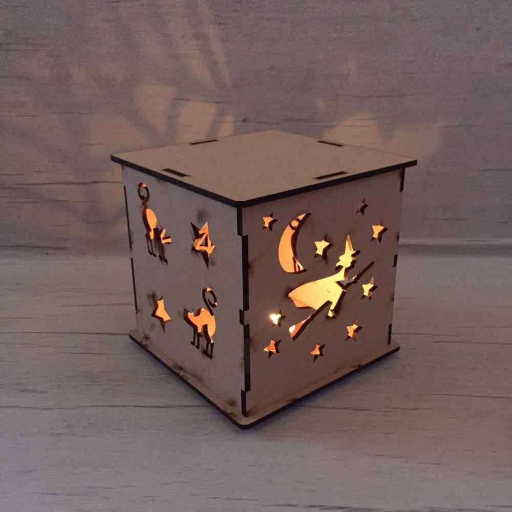 Halloween LED light box.