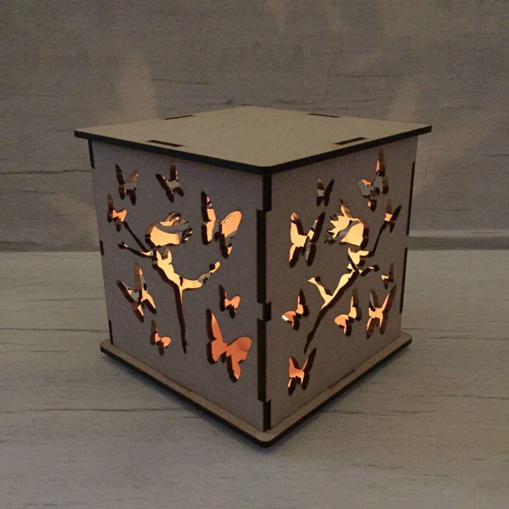 Fairy LED light box.