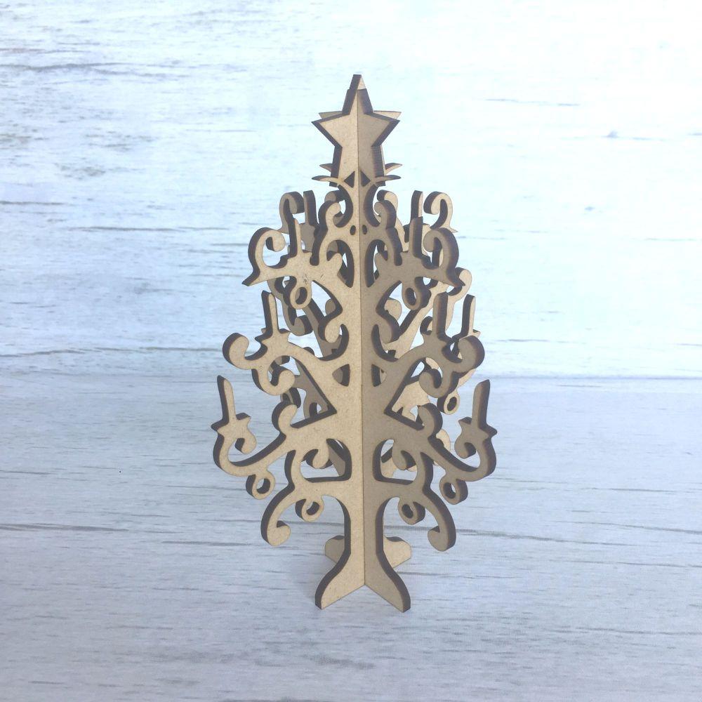 Christmas Tree CHRISTMAS CANDLES, freestanding