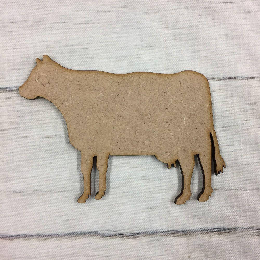 Wooden Cow shape