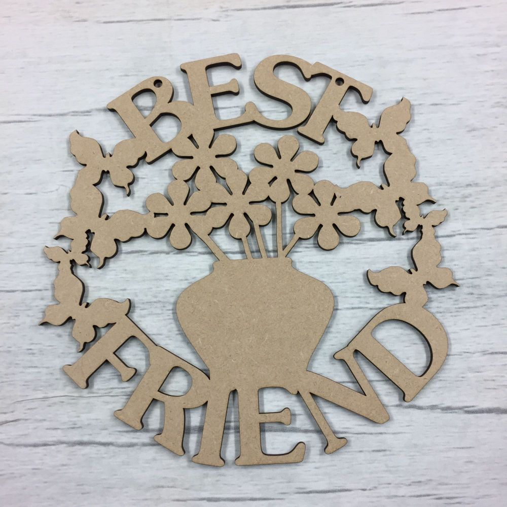 Best Friend' - hanging plaque