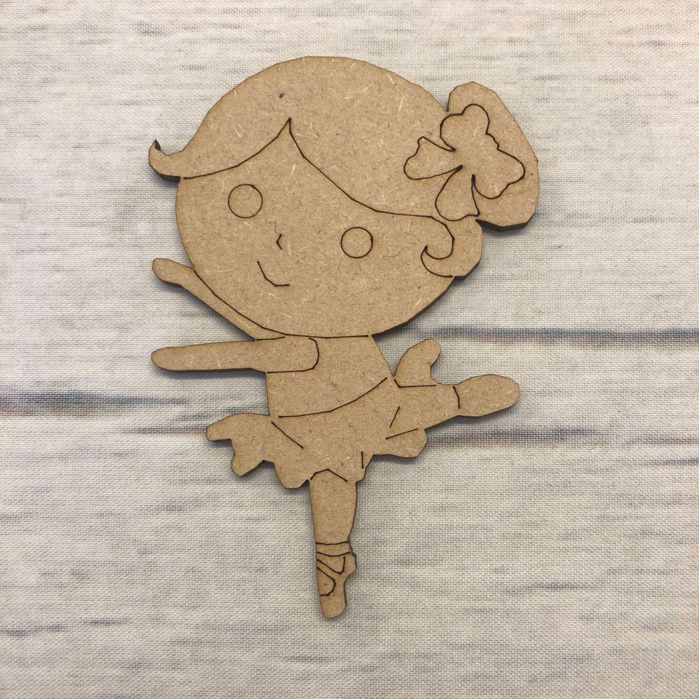 Ballerina - engraved