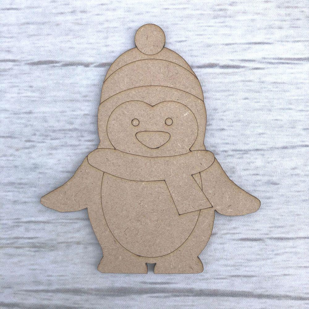 Penguin 1 - engraved