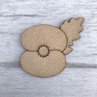 Poppy - engraved