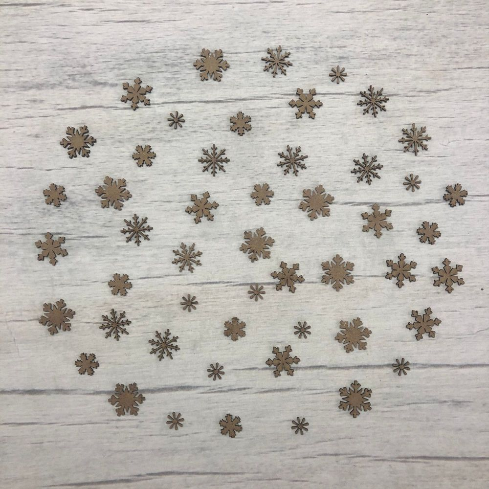 Snowflakes - 50 piece mini set