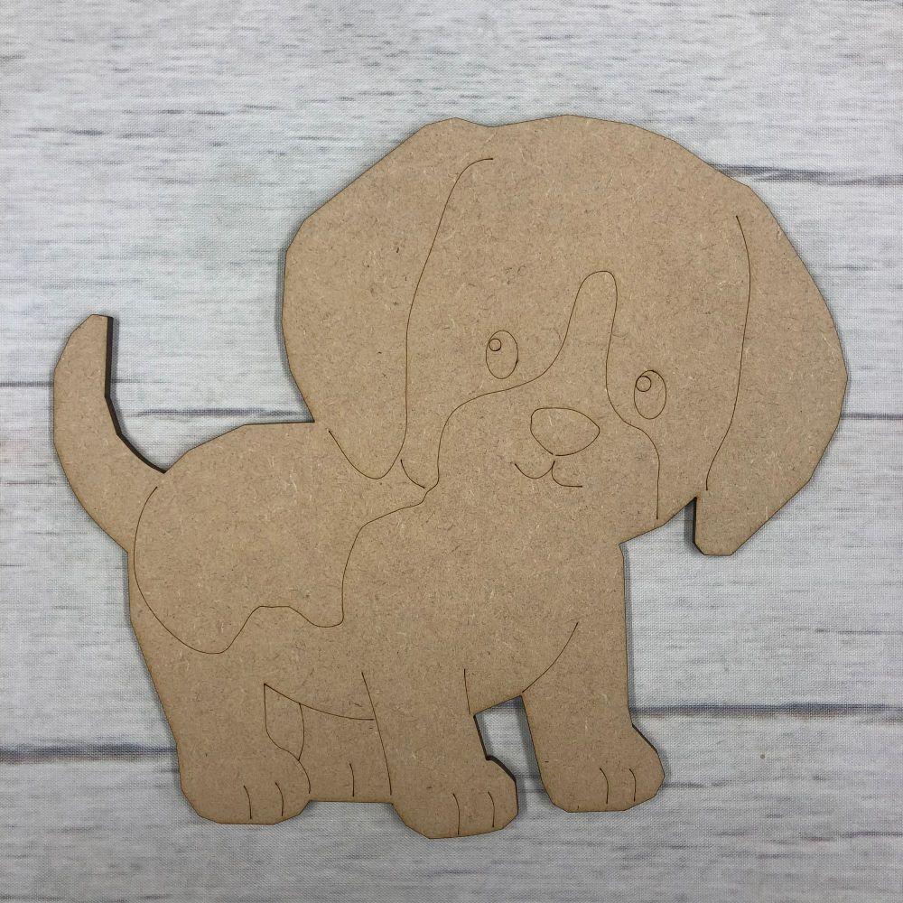 Puppy dog 1 - engraved