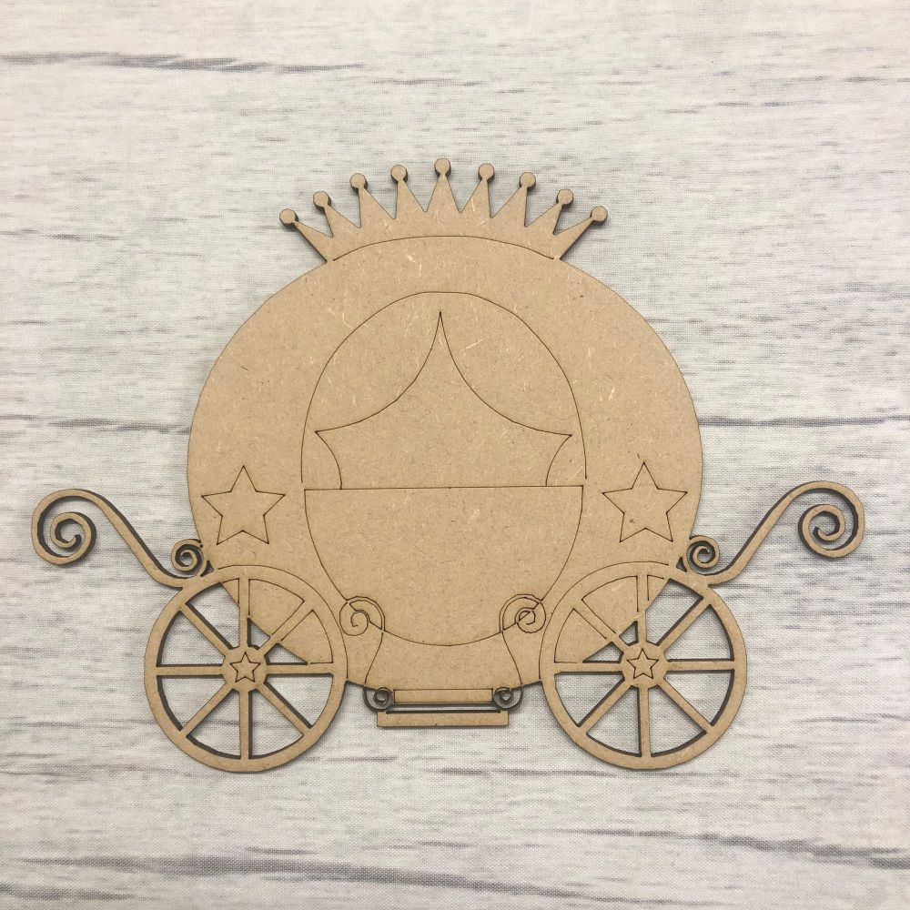 Princess Carriage 1 - engraved