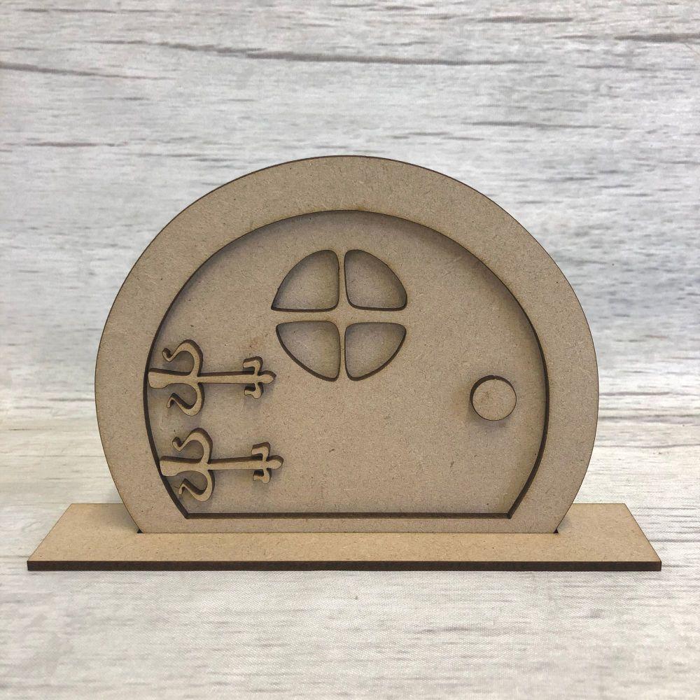 Decorative Fairy door hobbit shape