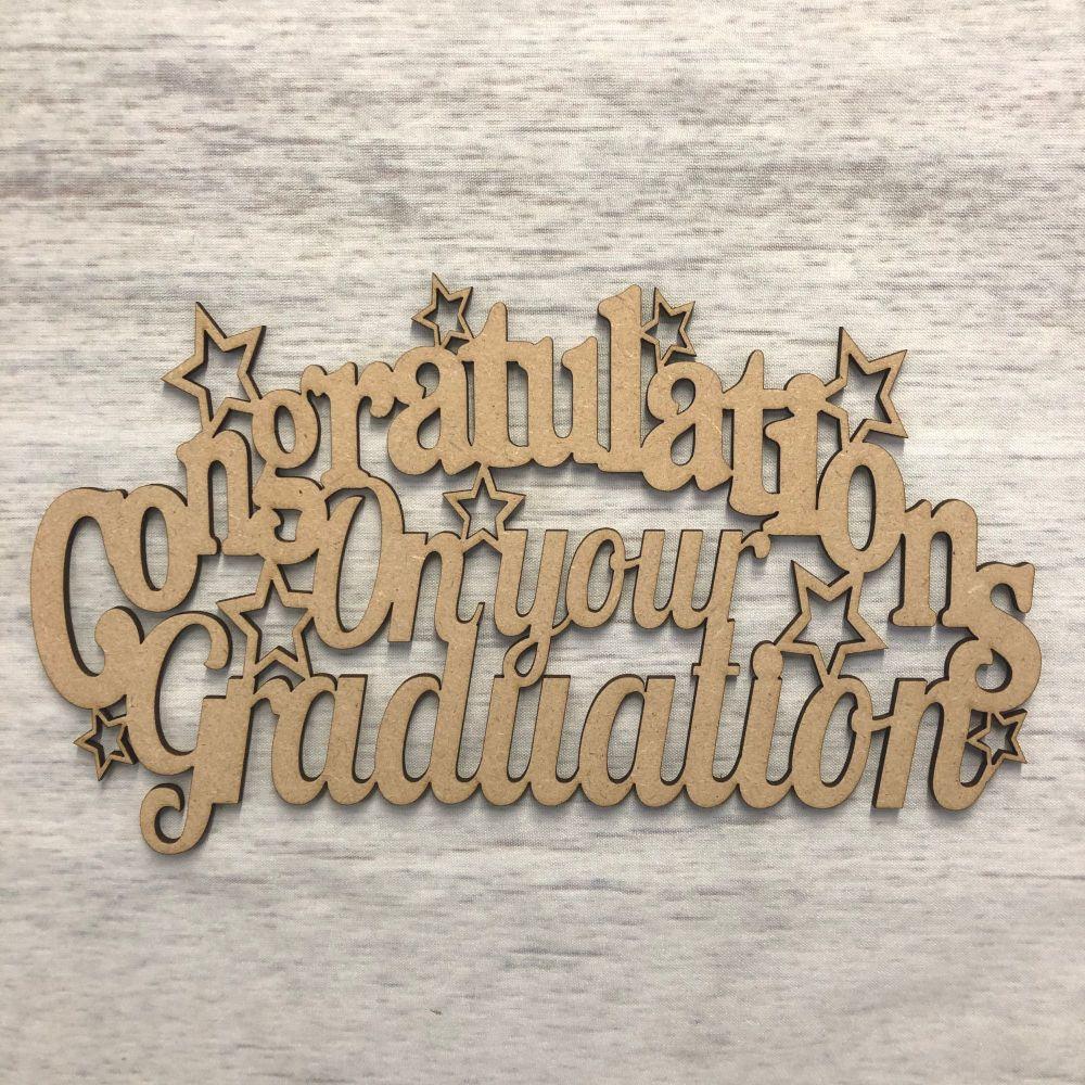 'Graduation' wall plaque