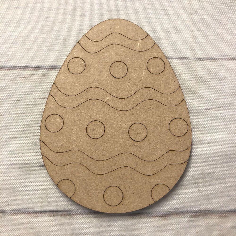 Easter Egg 2 - engraved