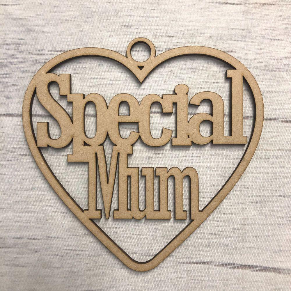 Hanging heart - 'Special mum'