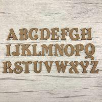 Embellishments set Belshaw alphabet 3.5cm