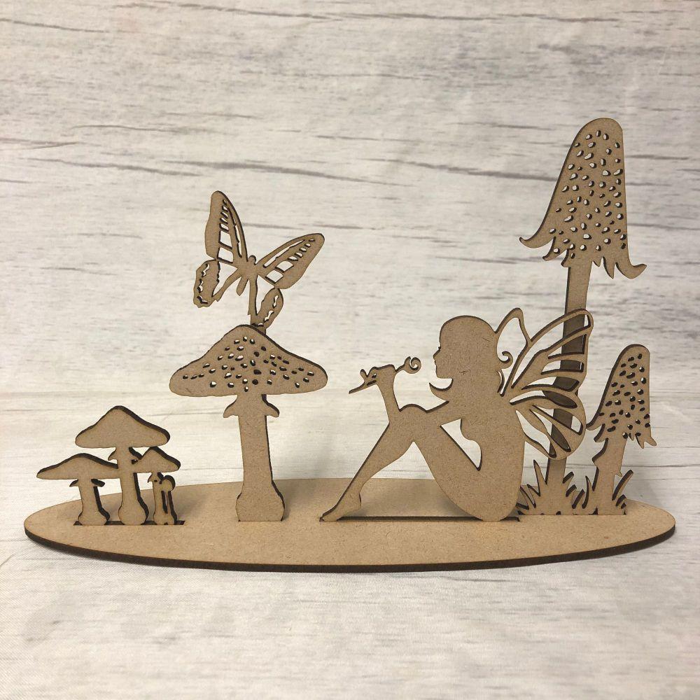Fairy glade scene - freestanding