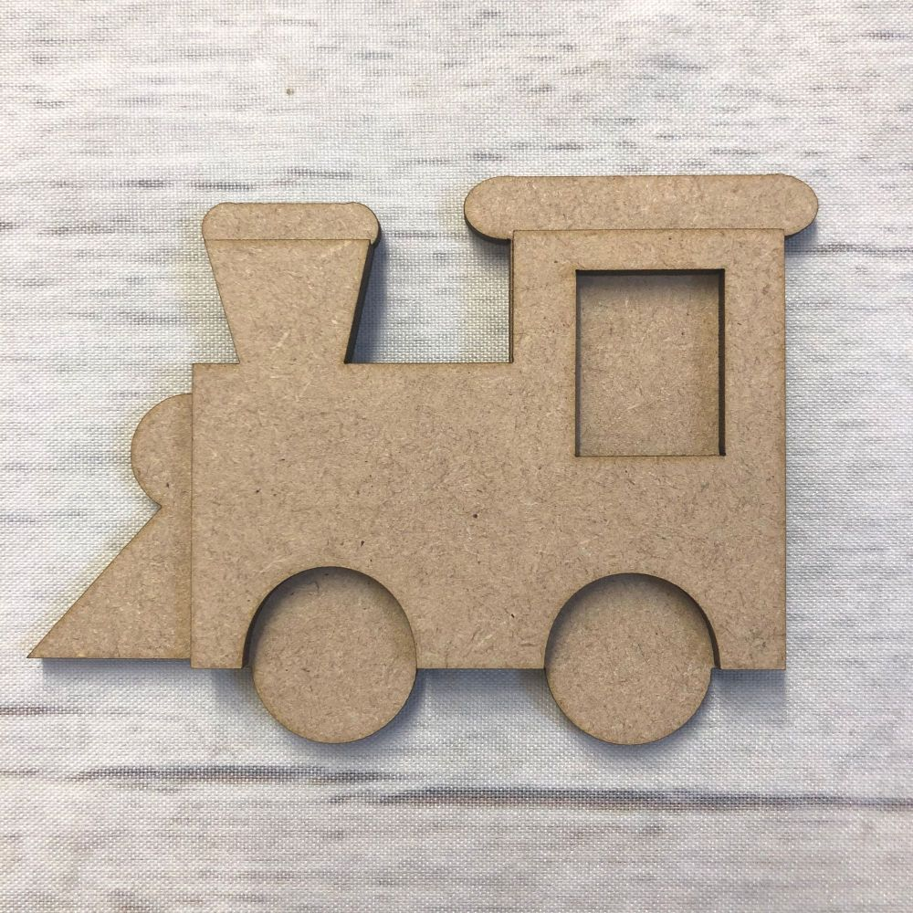 Train shape 2 - two part shape