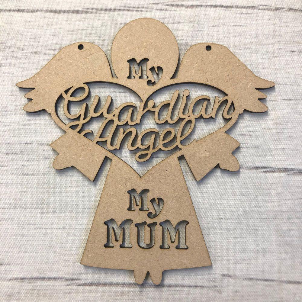 'My guardian angel, my Mum' - craft hanger