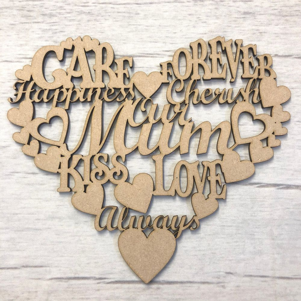 Hanging heart - Large Mothers day gift