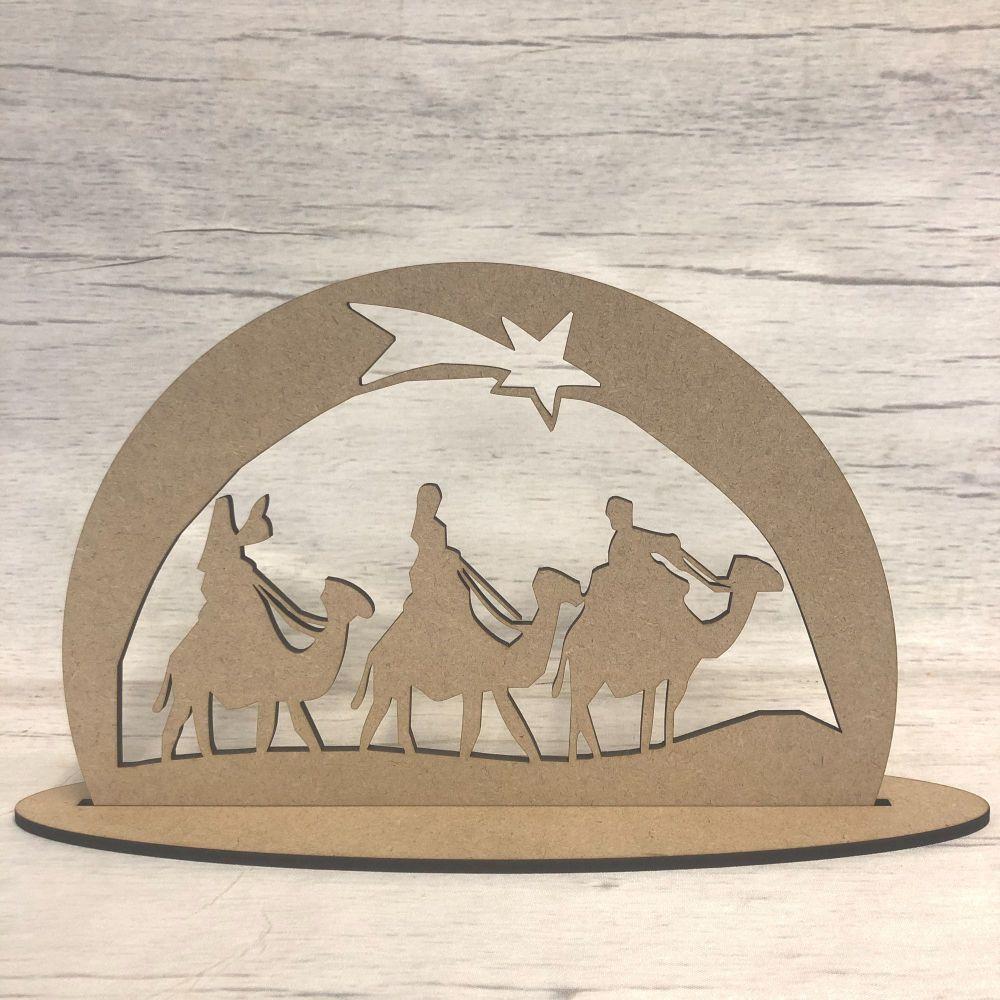 Christmas Nativity scene - freestanding scene 5