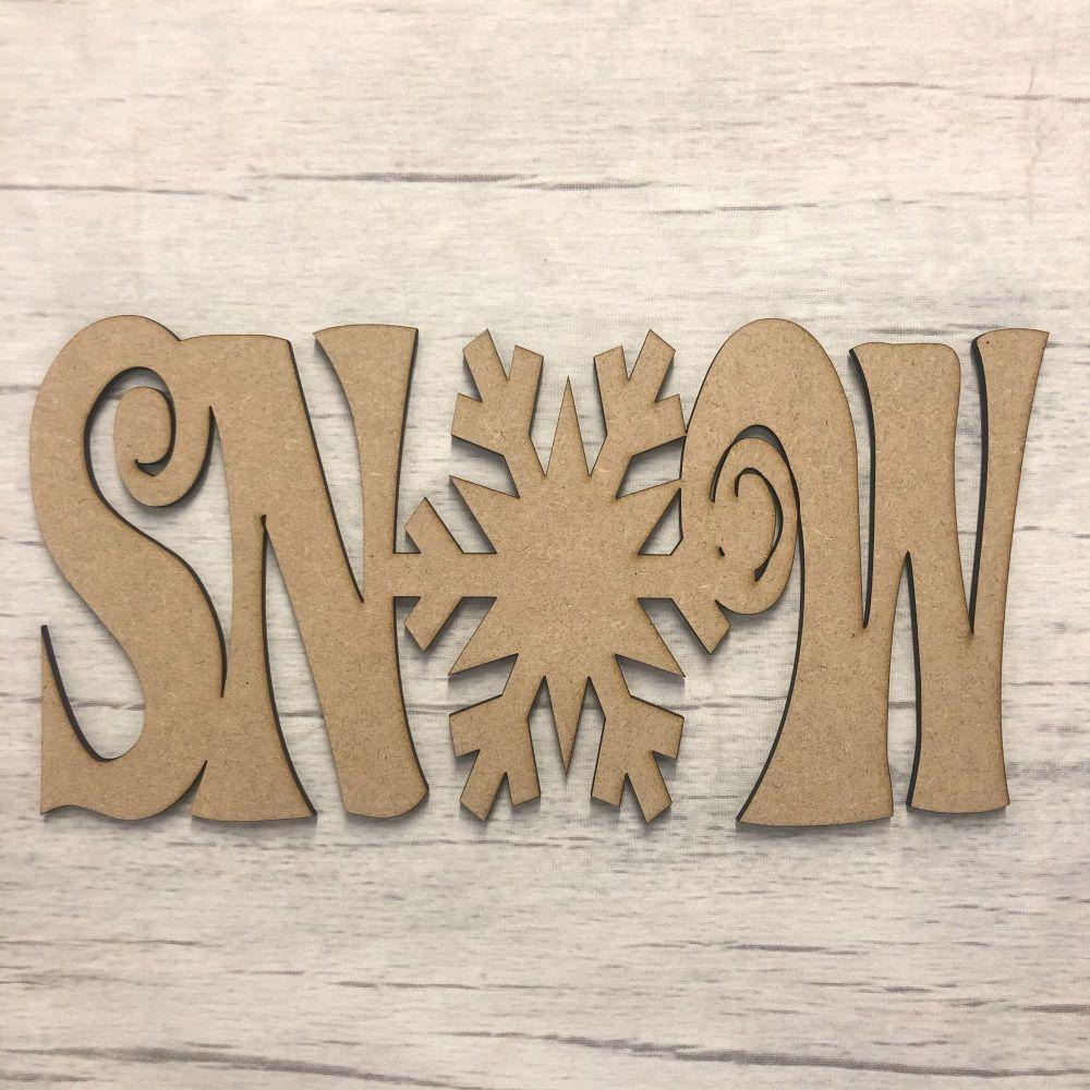 Snow' Plaque