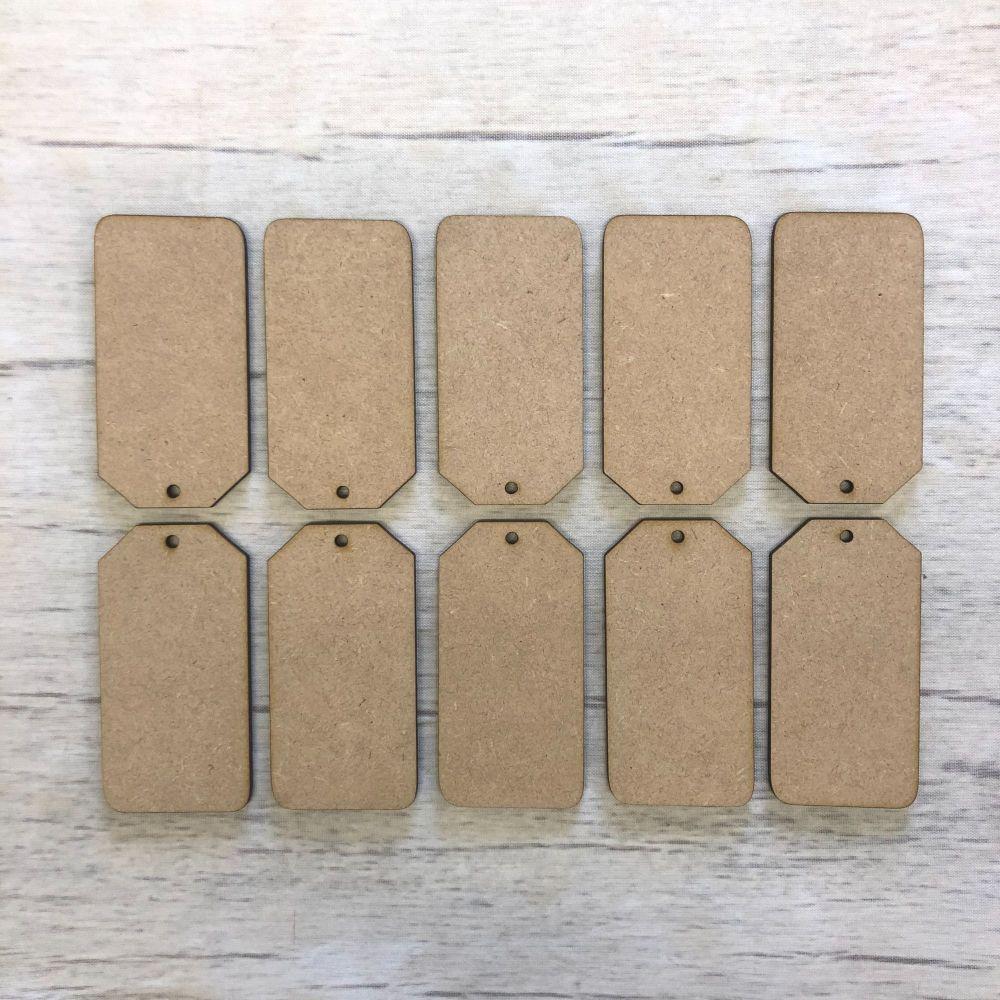 Luggage tags set of 10