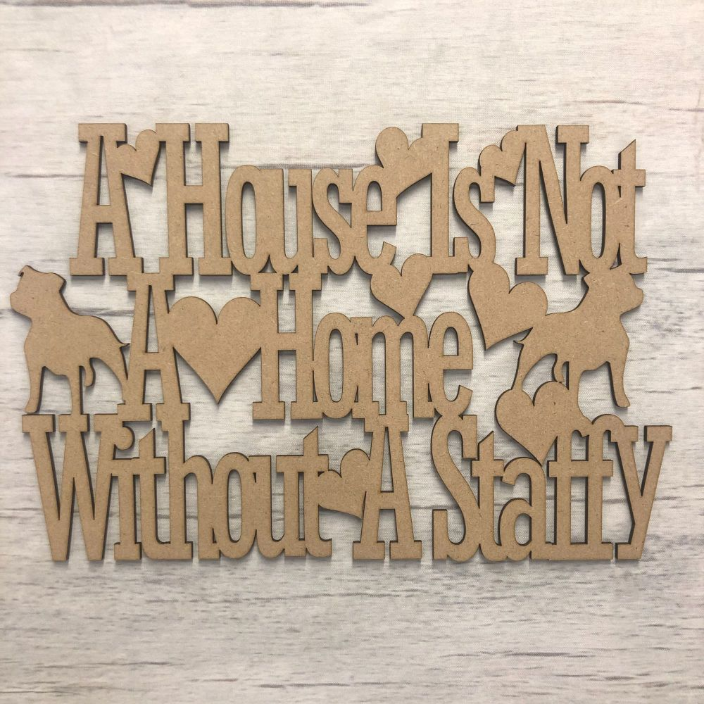 Doggy wall plaque - customised