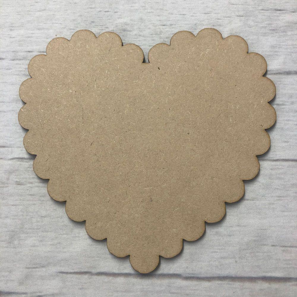 Heart 4 - Scalloped Heart