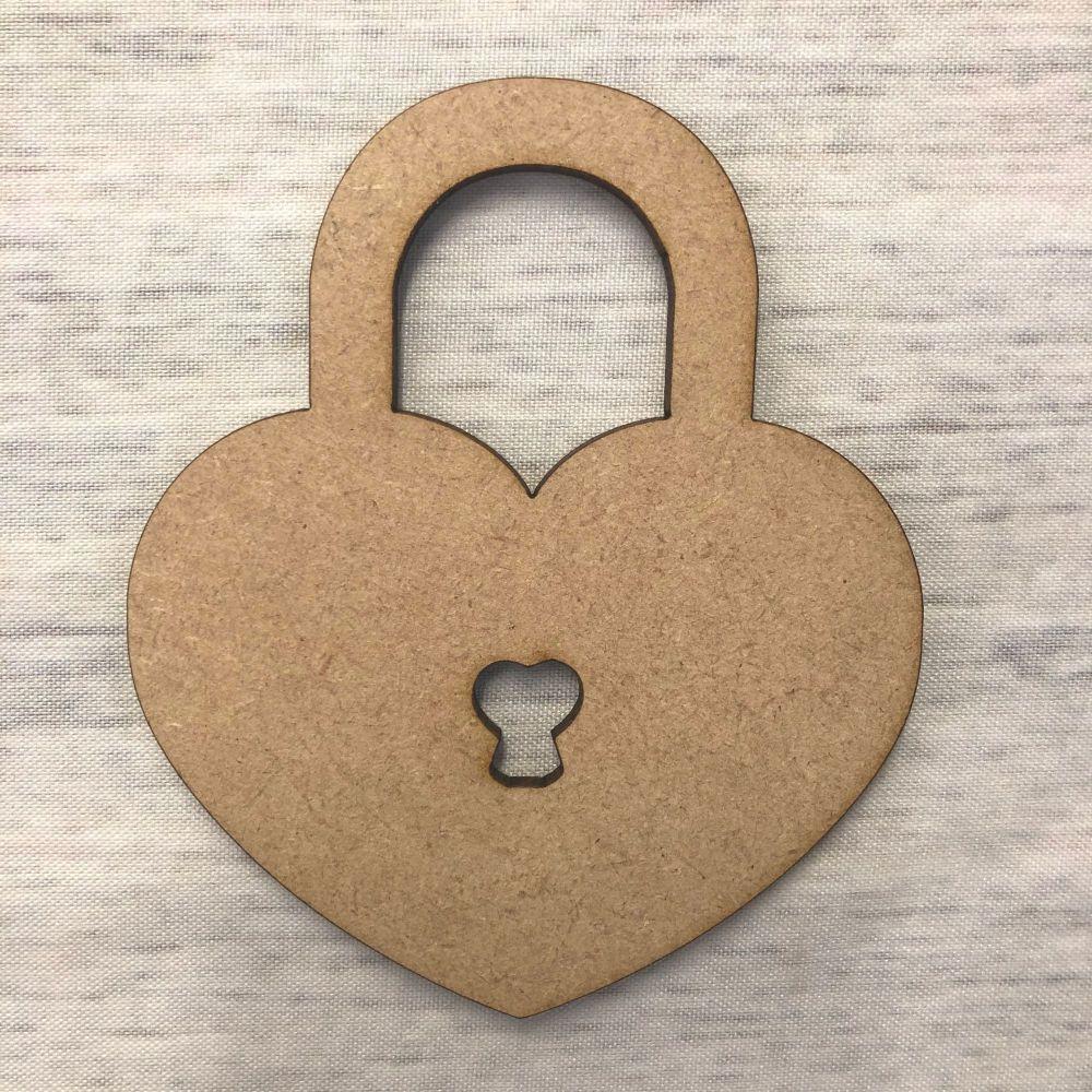 Heart  - padlock