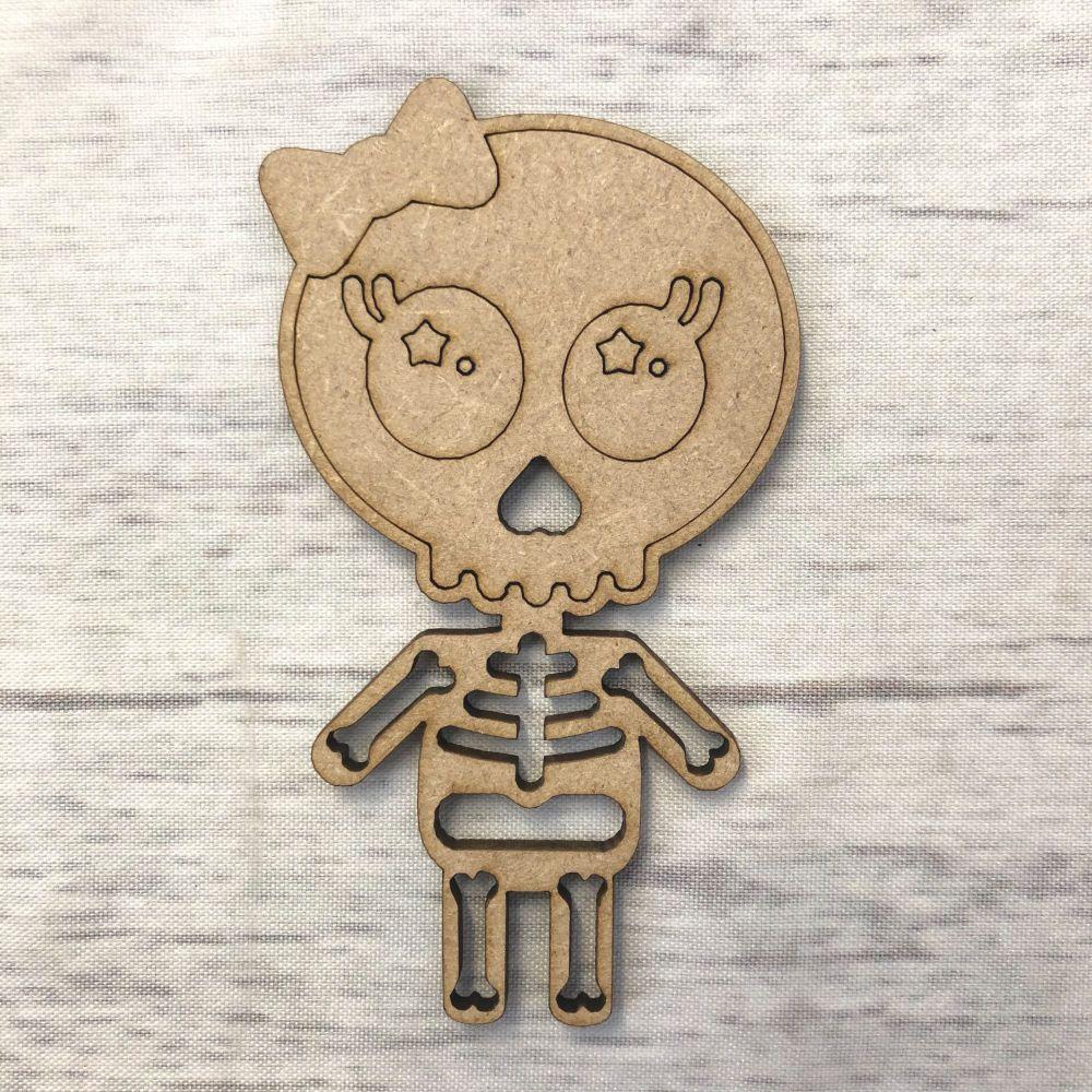 Skeleton - engraved