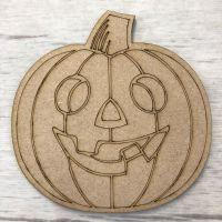 Pumpkin - engraved