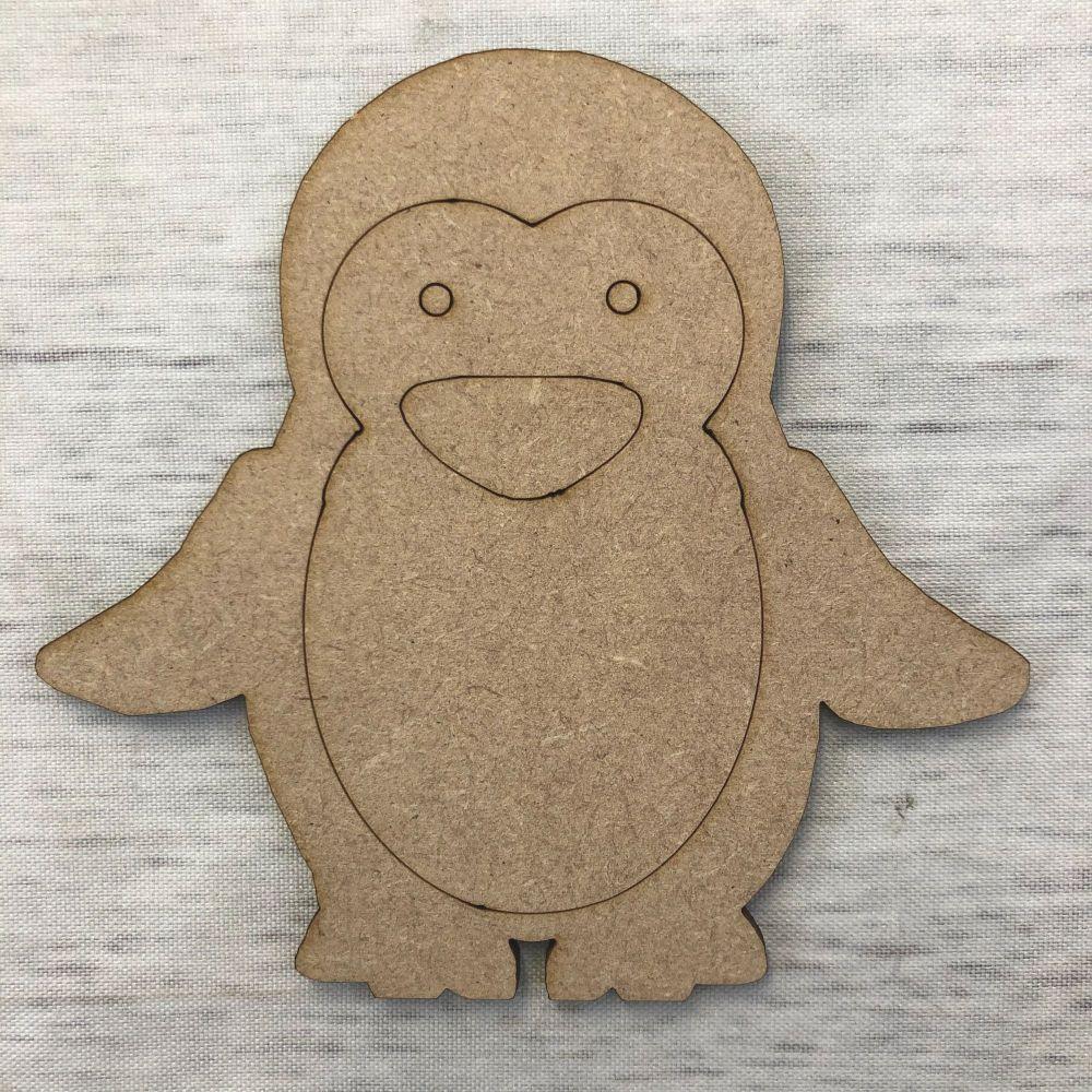 Penguin 2 - engraved