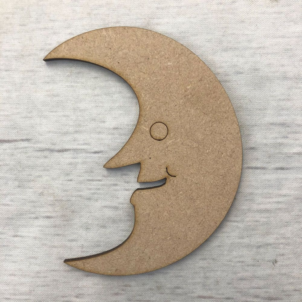 Moon 2 - engraved