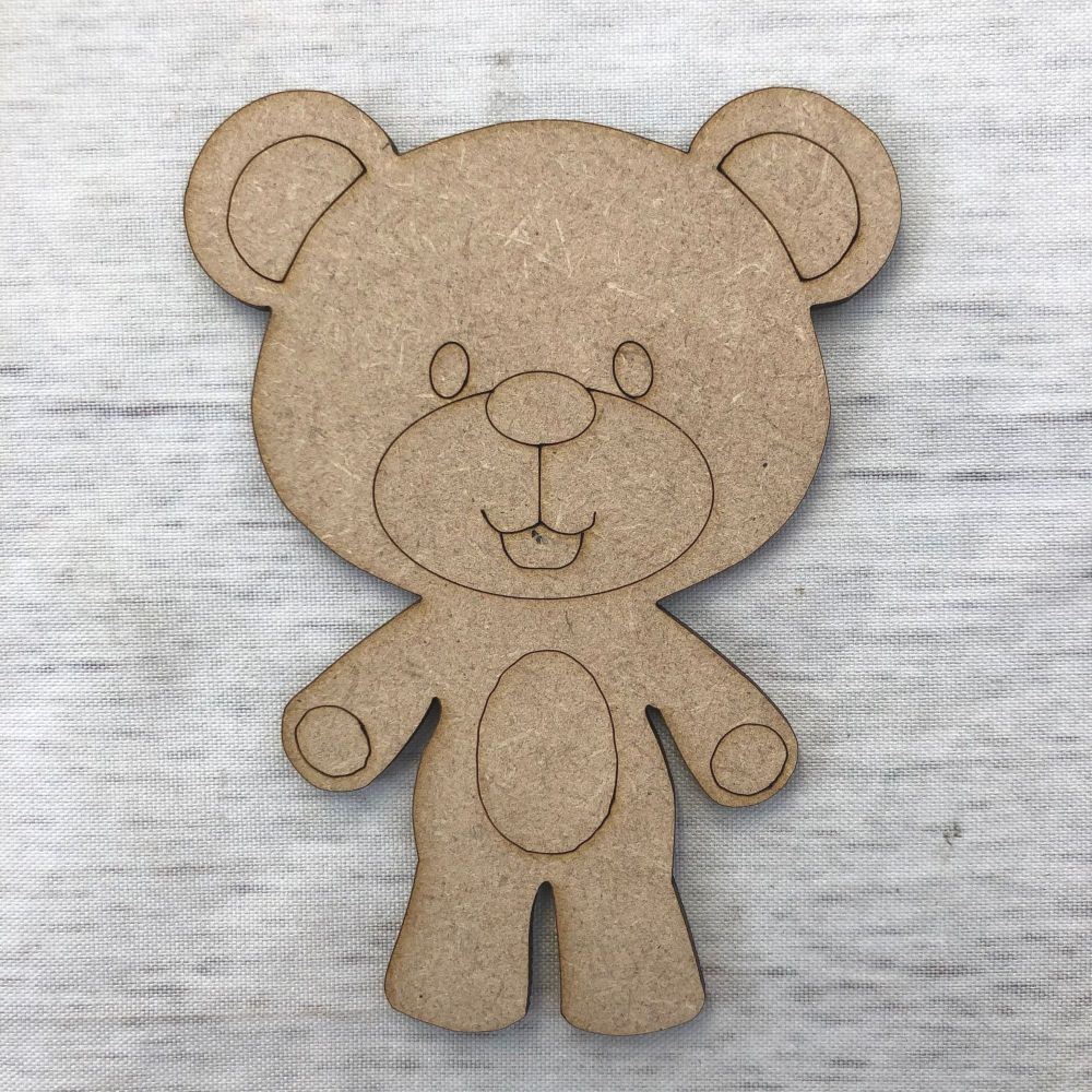 Teddy Bear 1 - engraved