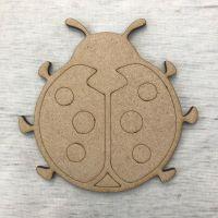 Ladybird - engraved