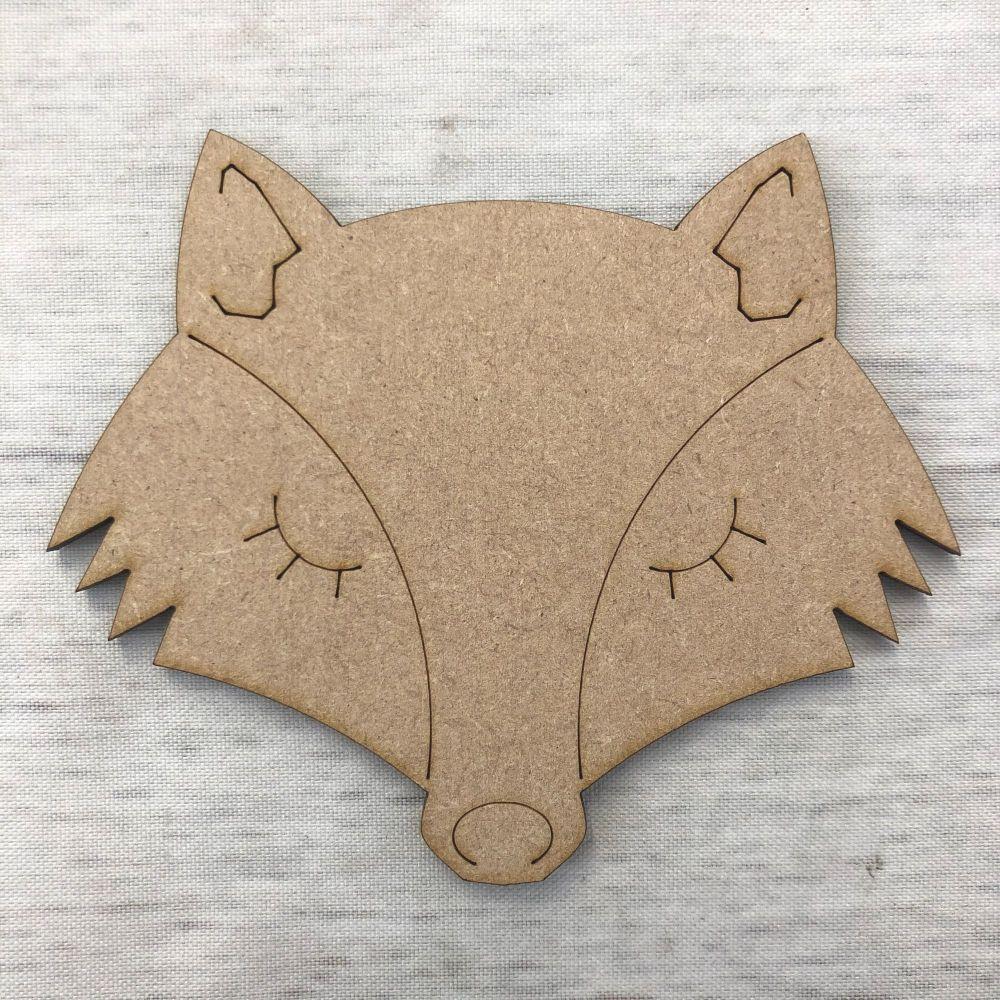 Fox - engraved