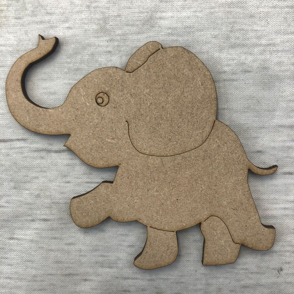 Elephant - engraved
