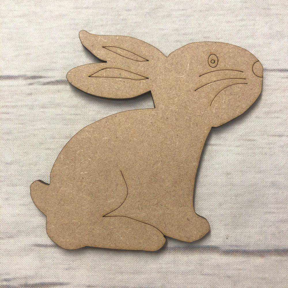 Rabbit 1 - engraved