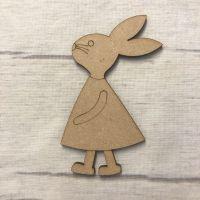 Rabbit 3 - engraved