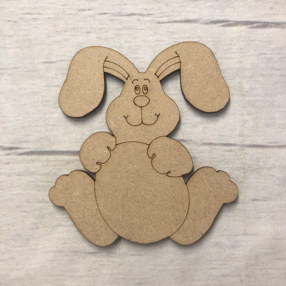 Easter Rabbit 1 - engraved