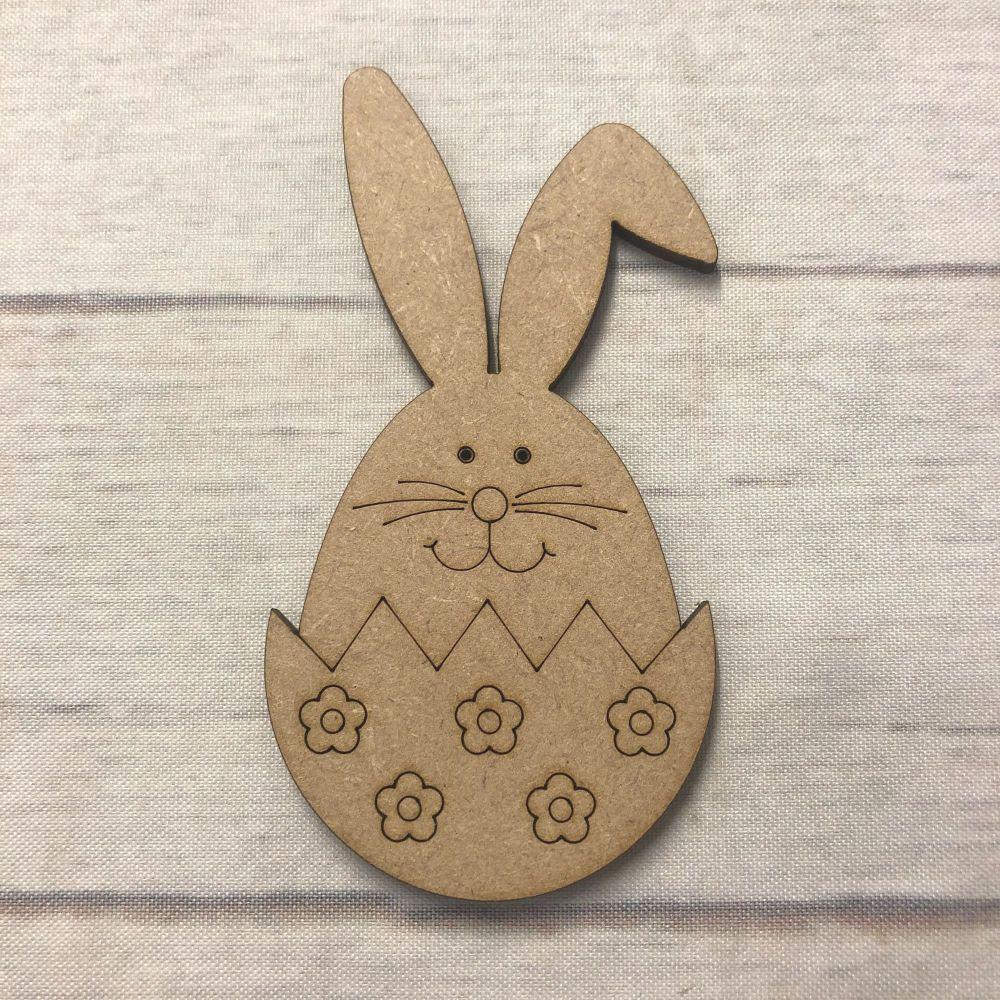 Easter Rabbit 2 - engraved