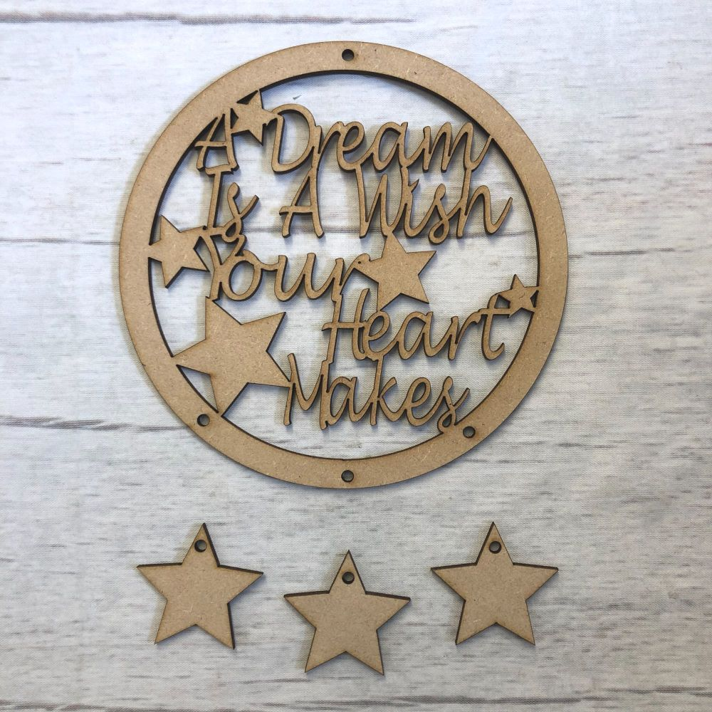 A Dream is a Wish dream catcher