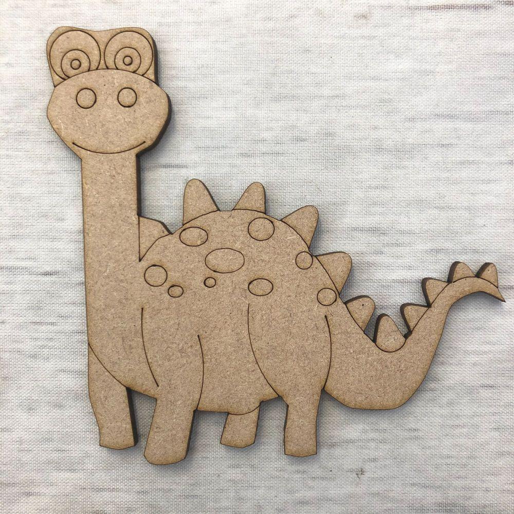 Dinosaur 1 - engraved