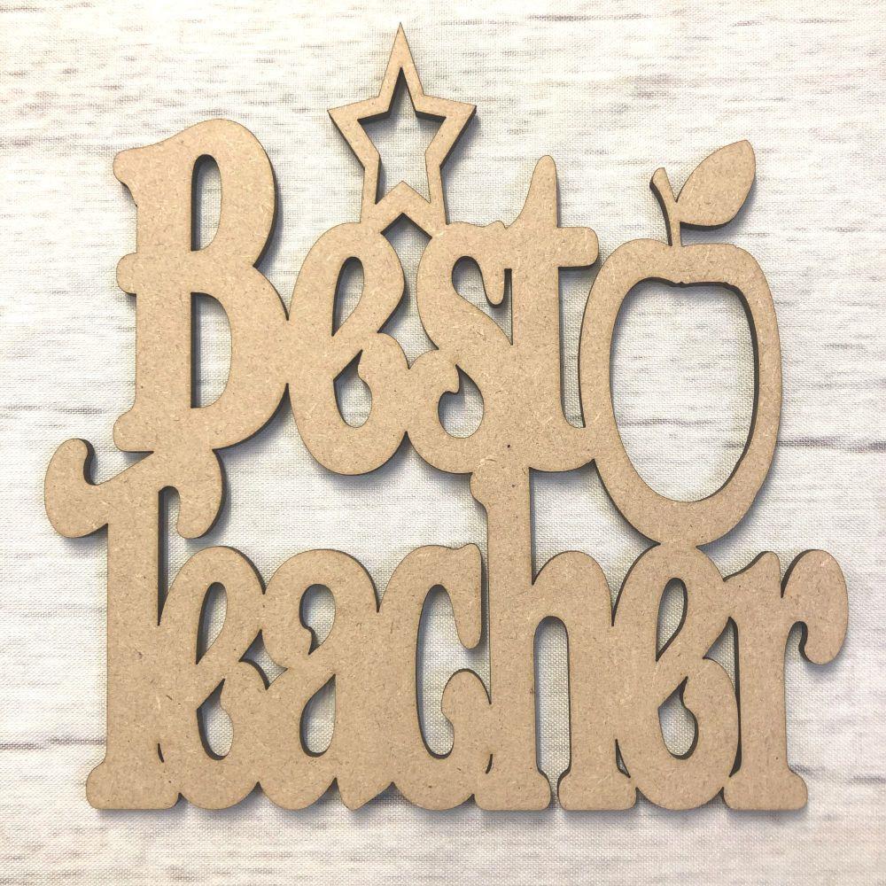Best Teacher Plaque 2