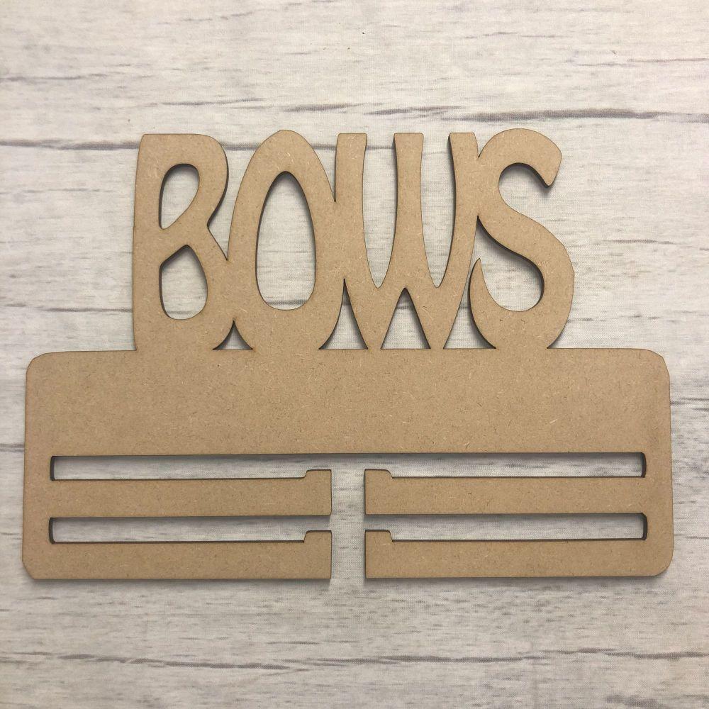 Bow Hanger - Plain