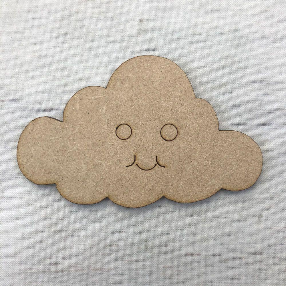 Cloud - engraved