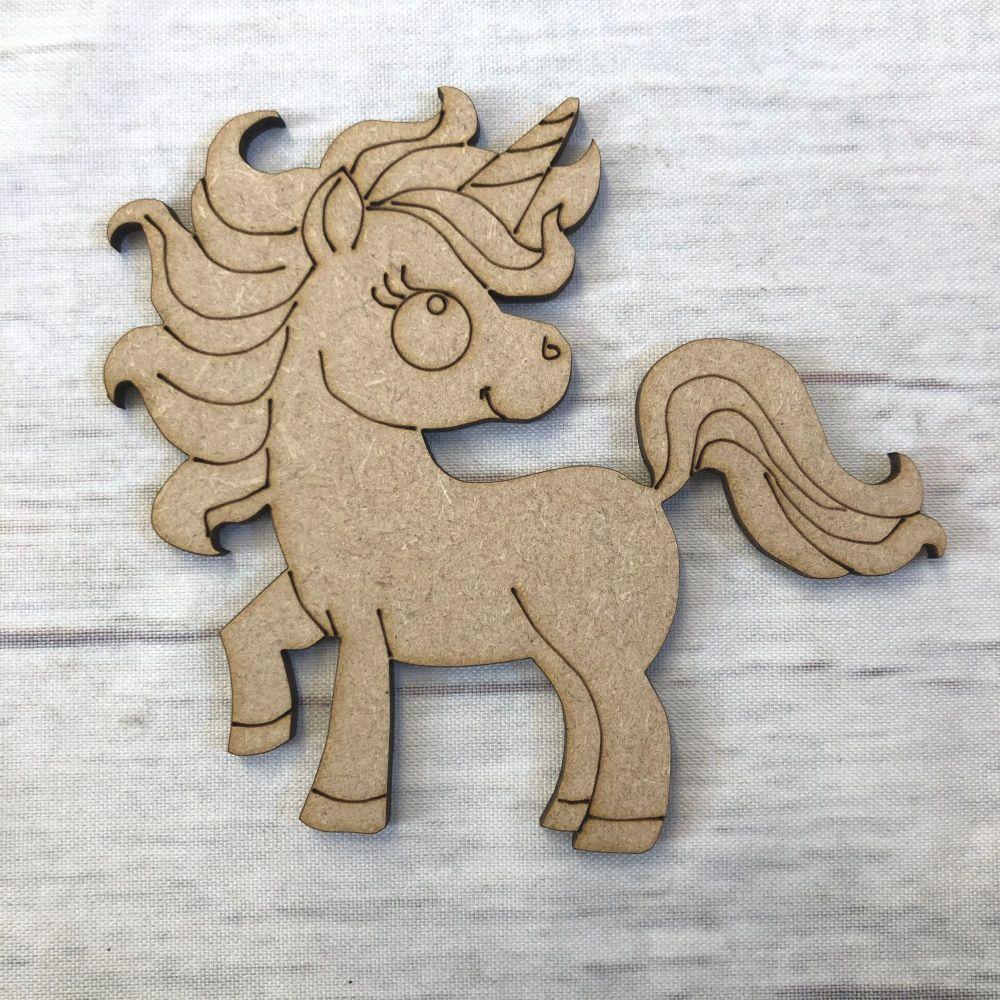 Unicorn 1 - engraved