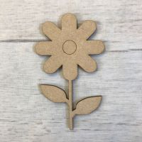 Flower - engraved