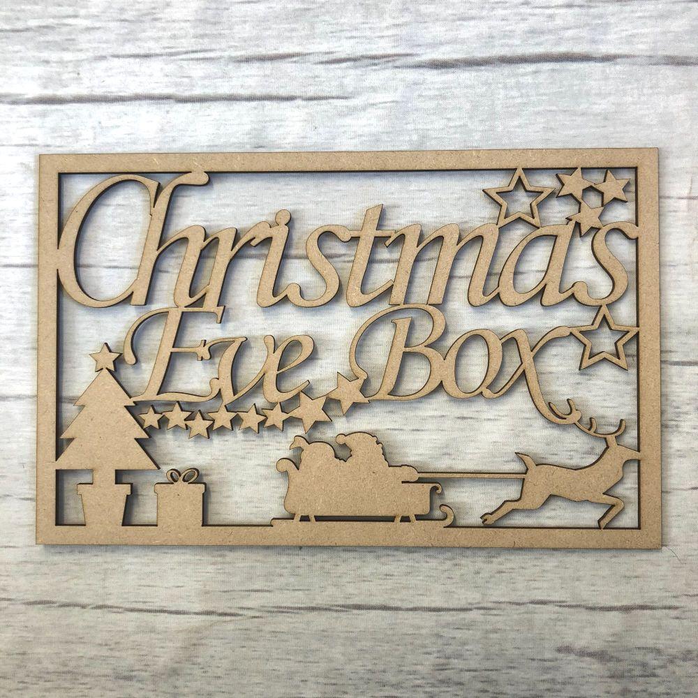Christmas Eve Box topper